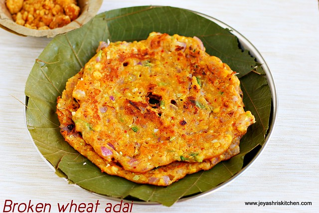samba- wheat adai