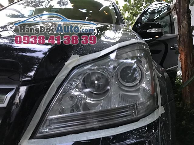 Mercedes GL550 Đánh bóng, phủ nano và làm mới mặt đèn