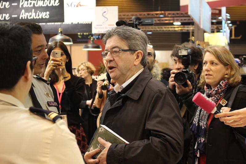Jean-Luc Mélenchon - Livre Paris 2017