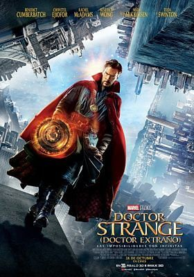 Cartel: Doctor Strange: Doctor Extraño (2016)