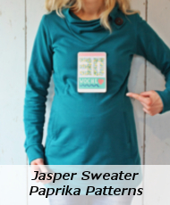 Jasper Sweater Paprika Patterns