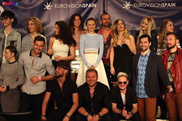 Eurovision Pre-Party Spain Press Event