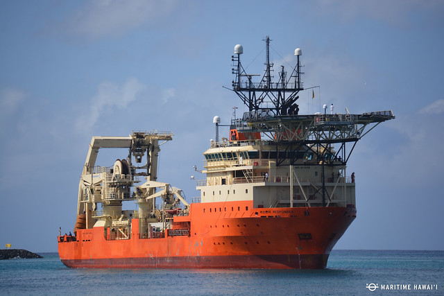 Cable Ship Maritime Hawai I