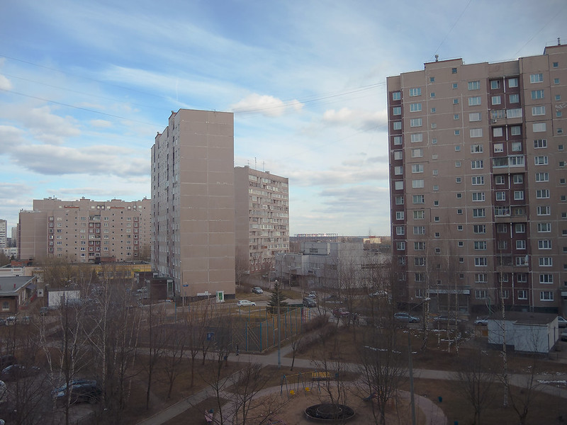 Зеленоград. Вид из окна