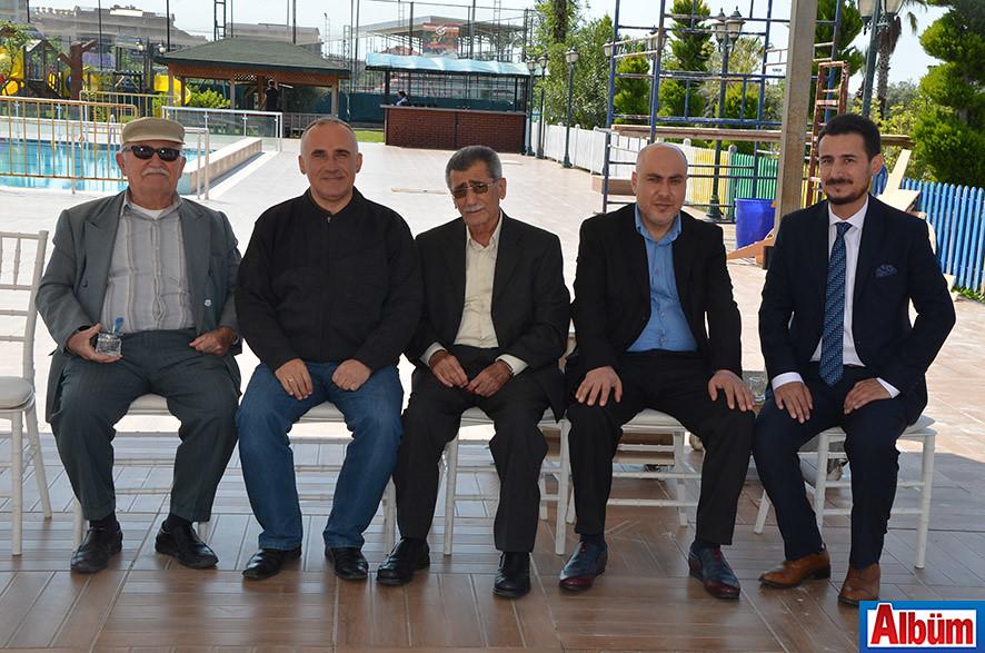 Nurettin Girenes, Murat Girenes, Hasan Tan, Musa Yıldız, Mevlüt Tan