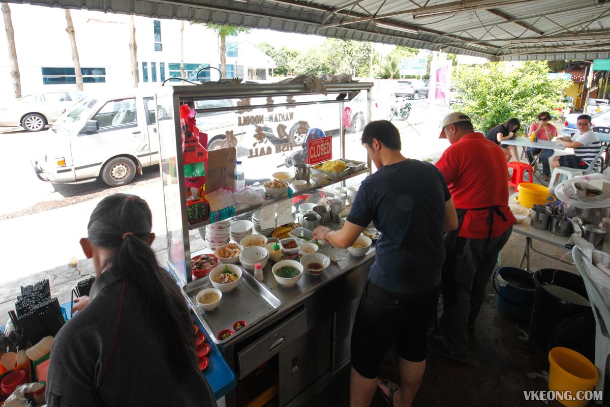 Kampung Sembilan Wantan Mee Stall Melaka