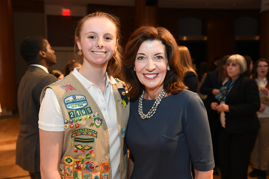 Governor Cuomo and Lieutenant Governor Hochul Announce New Girl Scouts Patch Celebrating the 100th Anniversary of Women's Suffrage in New York