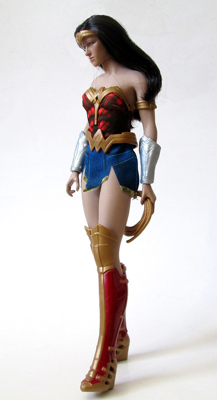 New Wonder Woman Mattel Outfit On A Phicen Figure-6077