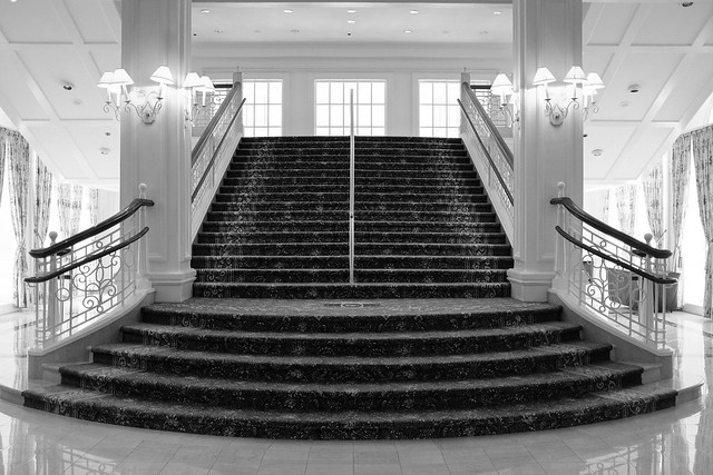 Beautiful stairs at Disney's Grand Florida Resort