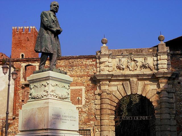 Entrance of Teatro Olimpico