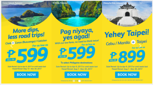 Cebu Pacific Promo No Need to Think Twice