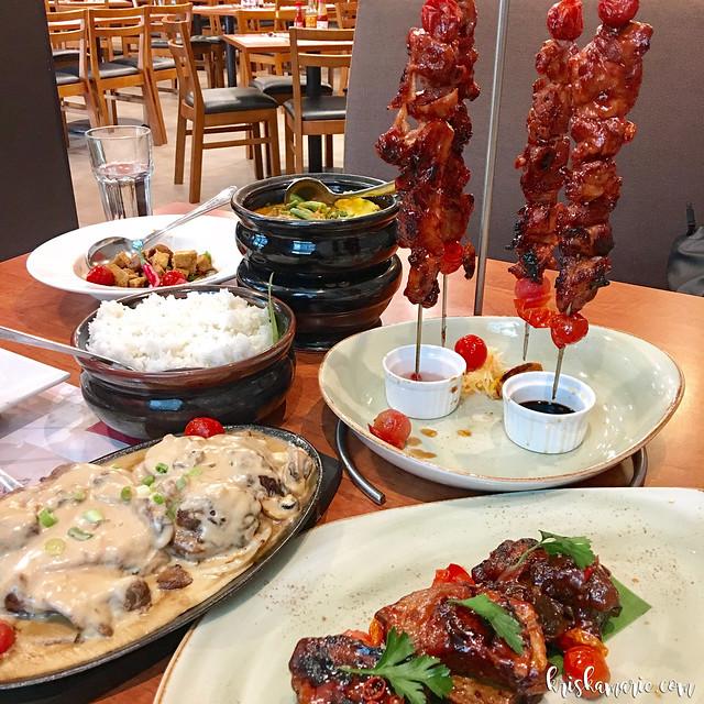 New Menu at Max's Restaurant