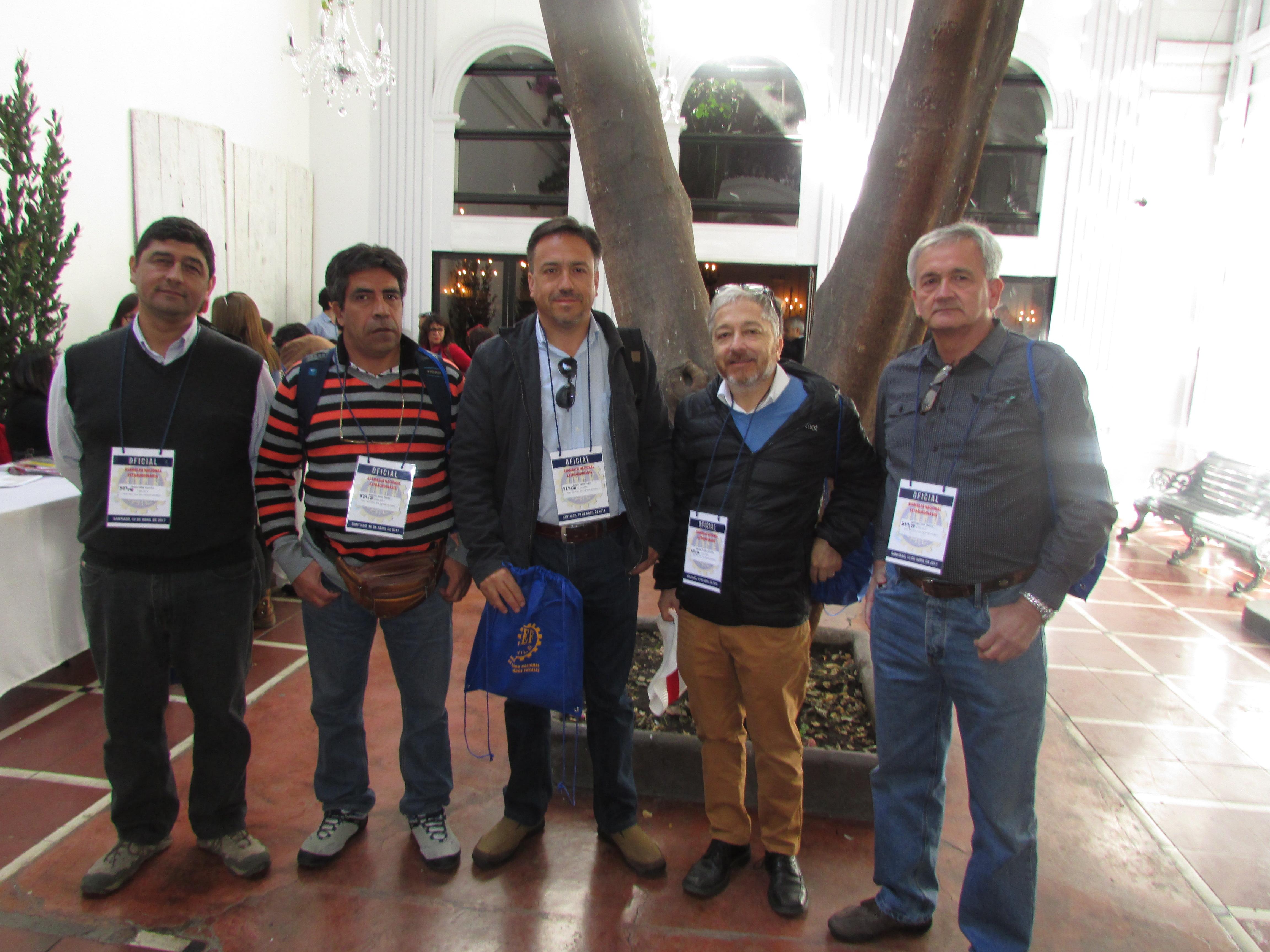 AFSAG participa en Asamblea Nacional Extraordinaria ANEF - 10 Abril 2017