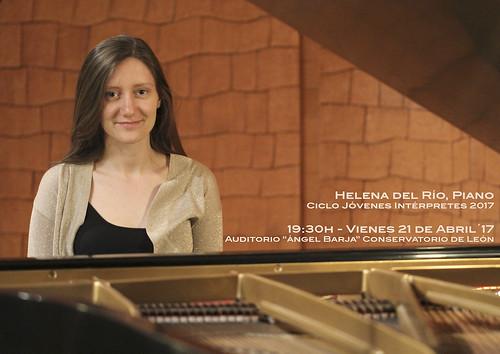 HELENA DEL RÍO, PIANO - CICLO JÓVENES INTÉRPRETES DEL CONSERVATORIO DE LEÓN 2017