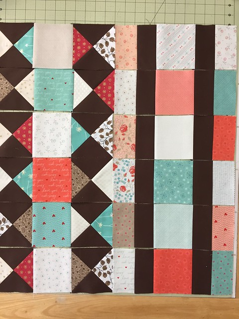 TwoStep Mystery Quilt-April