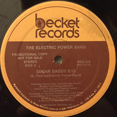 THE ELECTRIC POWER BAND:SUGAR DADDY(LABEL SIDE-A)