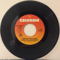 DENIECE WILLIAMS:FREE(RECORD SIDE-B)