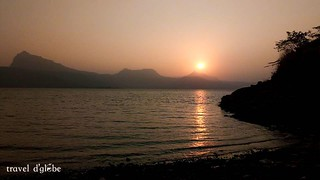 Get the best sunset experience while camping at Pawna Lake