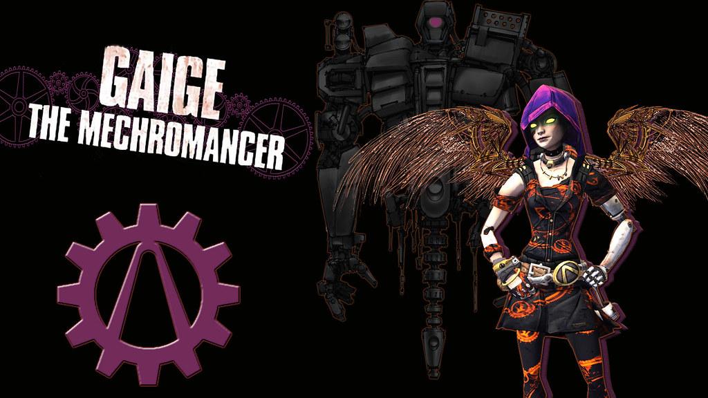 Gaige Desktop Wallpaper | Gaige the Mechromancer from Border… | Flickr
