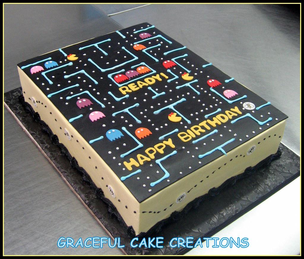 Ms Pacman Birthday Cake Grace Tari Flickr