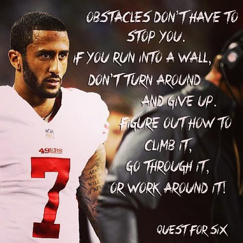 ... colinkaepernick #7 #football #quotes #quarterback #49ers #sanfransico