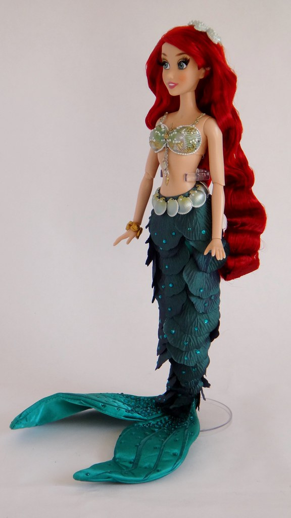 Limited Edition Ariel 17 Doll Us Disney Store Purchase