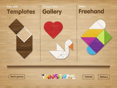 Tangram Puzzles screens