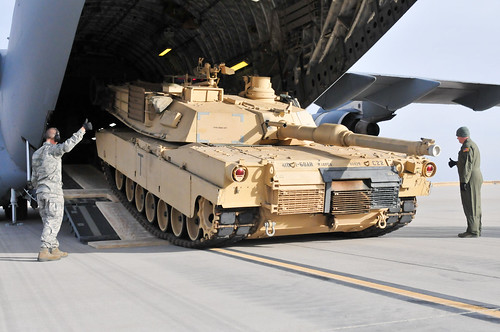 Abrams Offload | by The U.S. Army