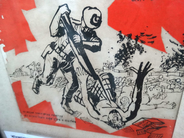 Nationalist Poster Depicting Pakistani Army Atrocities in ...