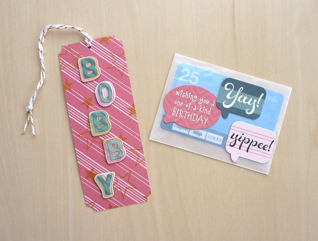 Bookmark & Gift Card