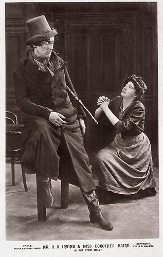 H.B. Irving and Dorothea Baird in The Lyons Mail (1905)