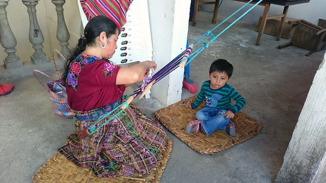 backstrap weaving, Guatemala