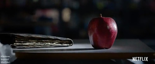 "Apple for Ryuk in ""Death Note"""