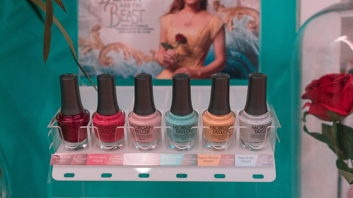 Gelish and Morgan Taylor's Beauty and the Beast Polish Collection