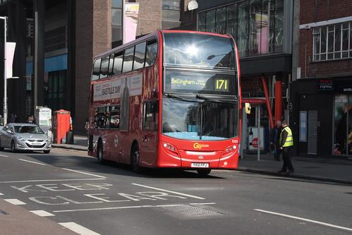 London Central E252 YX12FPJ
