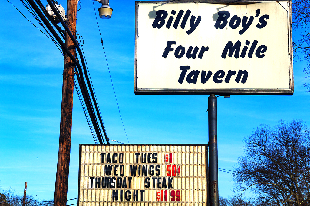 Billy Boy's Four Mile Tavern--Pine Barrens