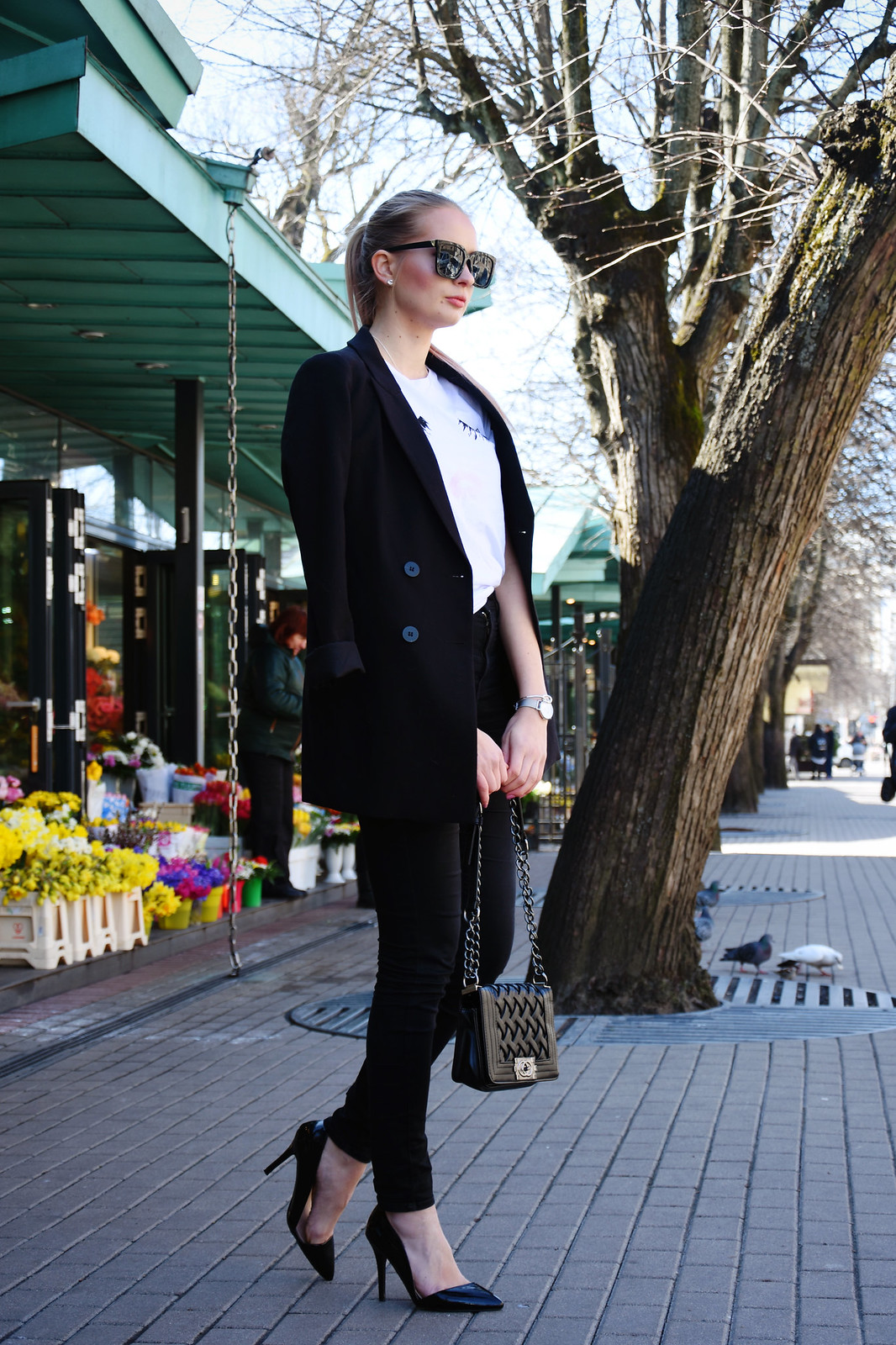 Smart spring outfit