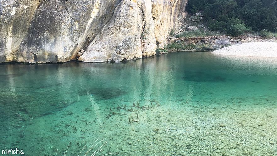 Remanso rio matarraña