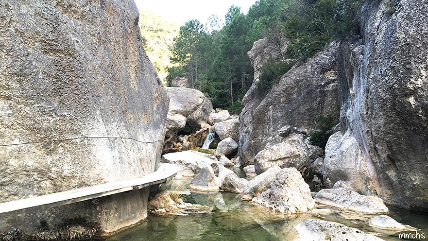 pasarelas rio Matarraña