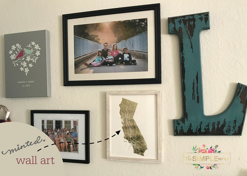 minted california wall art
