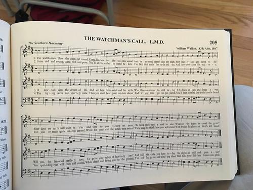 William Walker Memorial Shape Note Singing-10