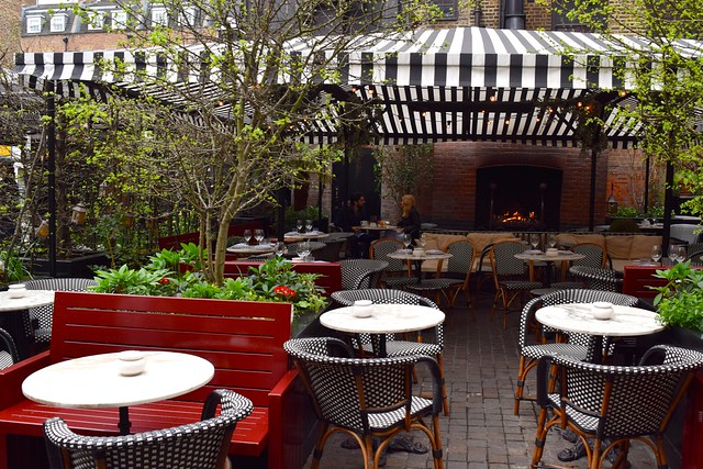 Terrace at The Chiltern Firehouse, Marylebone | www.rachelphipps.com @rachelphipps