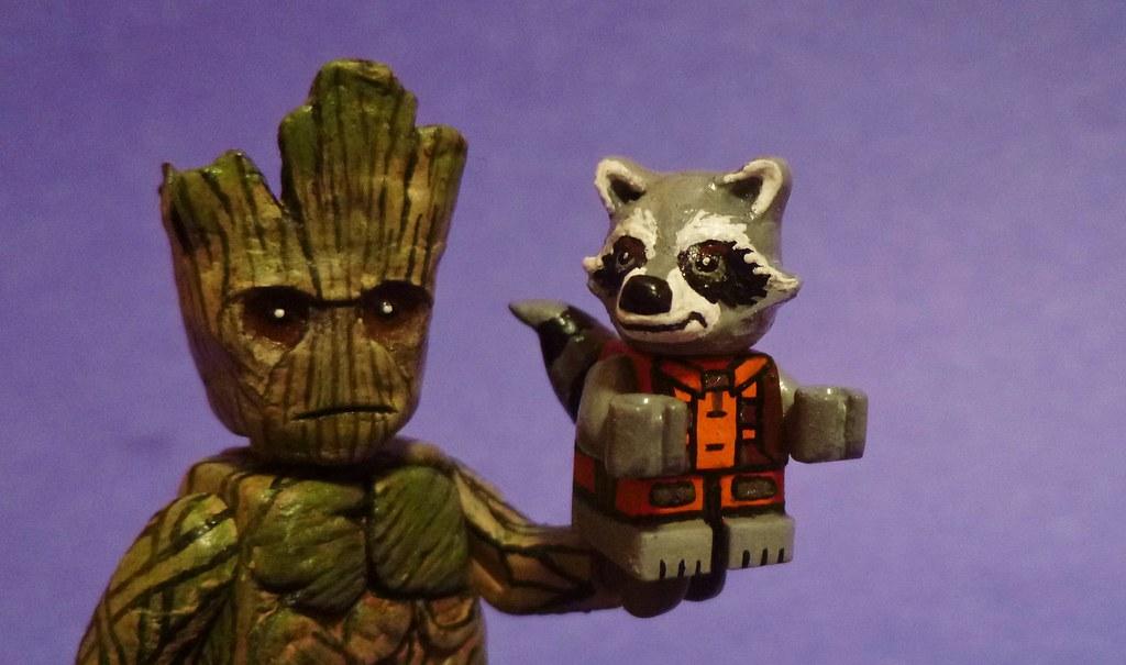 Custom Lego Guardians Of The Galaxy Rocket Raccoon Flickr