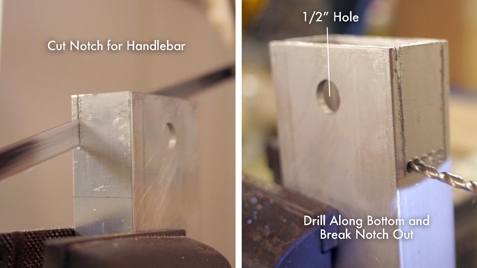 Cut Handlebar Notch