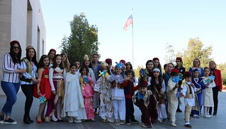 Elementary school from La Marsa visit The Embassy