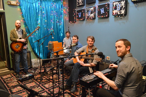 Stephen Karl & Handsome Animals live on WFMU