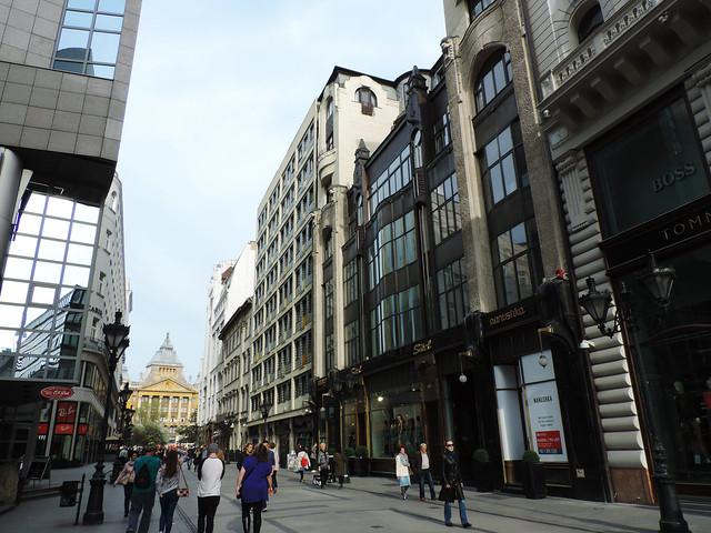 Váci Street, Budapest, Hungary