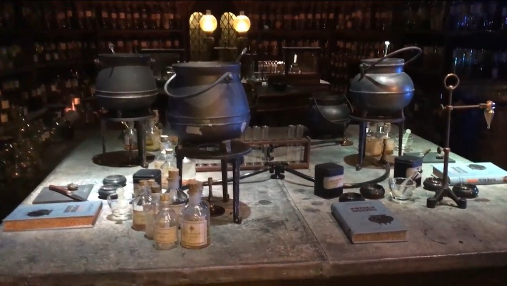 Sala de Pociones Harry Potter
