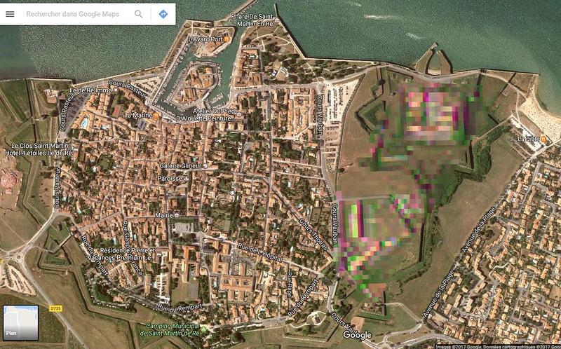 SCANDALE, GOOGLE maps censure notre patrimoine