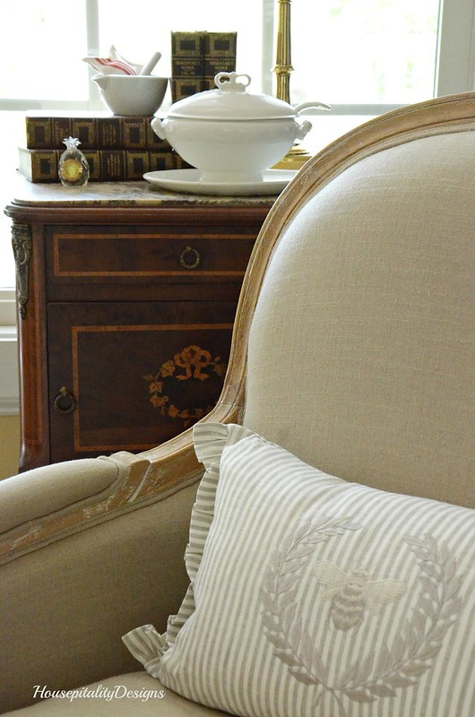 Great Room Chair-Linen Pillow-Housepitality Designs